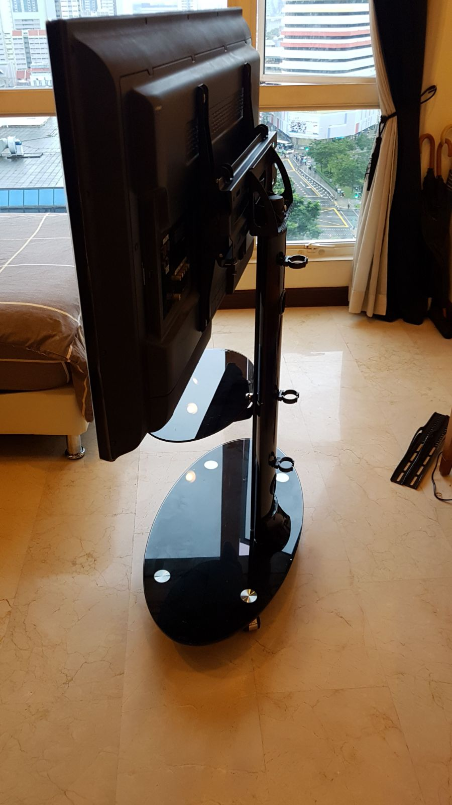 B840 TV mobile cart installation singapore side view.jpg