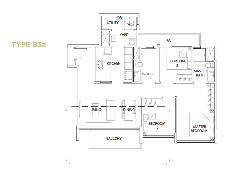 TheVales_3BR 1033 sqft B3a.png